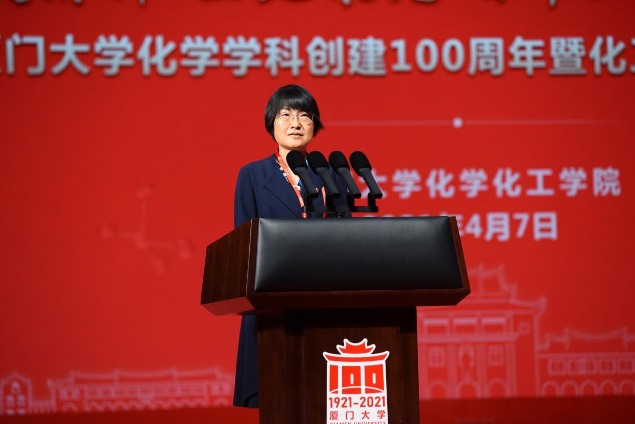 院友代表:中國科學技術大學謝毅院士發言2